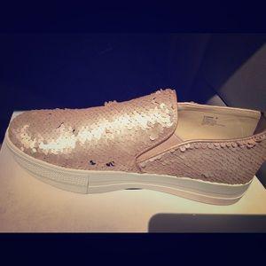 Steve Madden Blush Sequin shoes